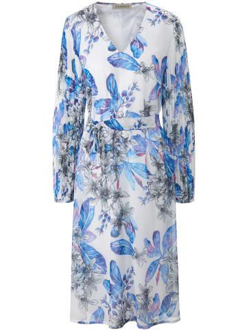 UTA RAASCH Abendkleid Kleid mit V-Ausschnitt in multicolor