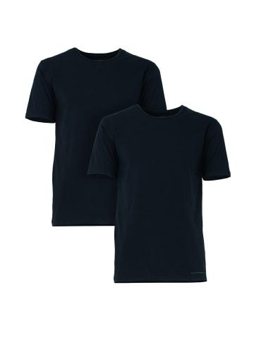 Baldessarini T-Shirt 2er Pack in schwarz