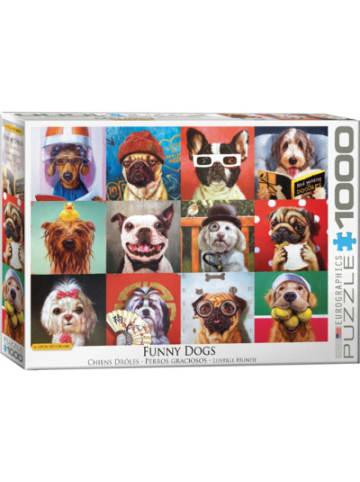 Eurographics Puzzle 1000 Teile-Lustige Hunde von Lucia Heffernan