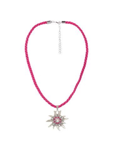 Schlick Accessoires Trachtenhalskette in Pink
