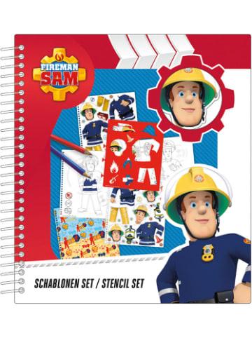 Undercover Schablonen Set - Feuerwehrmann Sam