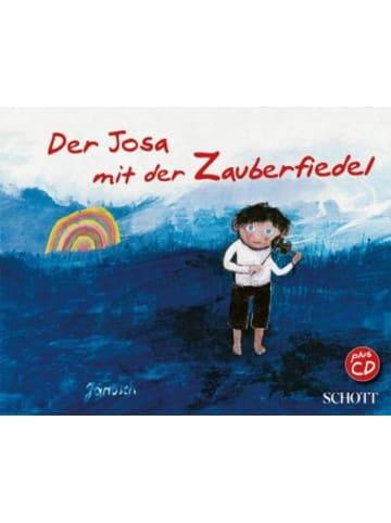 Schott Music Der Josa mit der Zauberfiedel, m. 1 Audio-CD