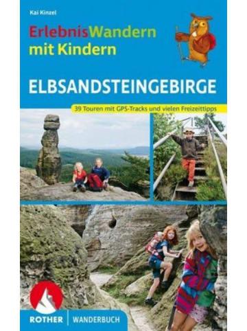 Bergverlag Rother ErlebnisWandern mit Kindern Elbsandsteingebirge