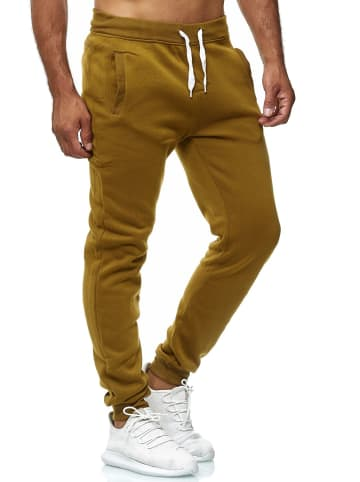 EGOMAXX Jogging Hose Fit Home Sweat Pants leichte Sporthose Vers1 in Olive
