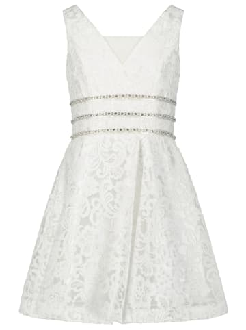 Prestije Kinderkleid aus Spitze in weiß