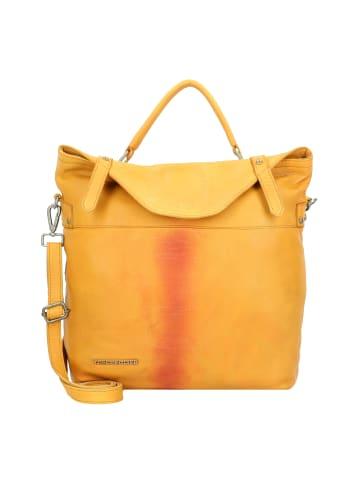 TASCHENDIEB Albertinaplatz 7 Handtasche Leder 32 cm in mustard