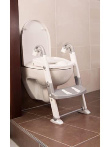 Kids Kit Toilettentrainer 3 in 1, silbergrau / weiß