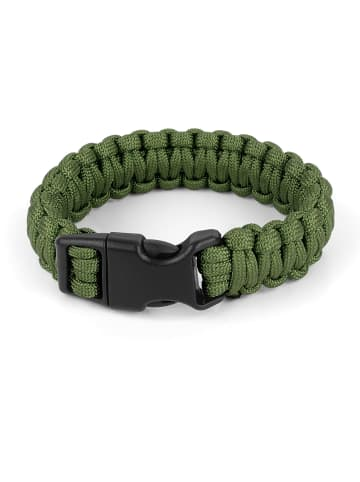 Normani Survival-Armband Paracord 17 mm Medium in Oliv