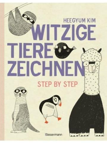 Bassermann Verlag Witzige Tiere zeichnen
