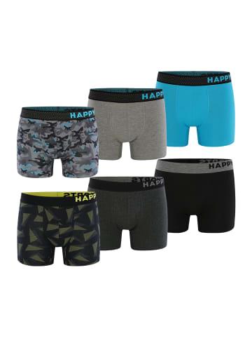 Happy Shorts Boxershorts 6-Pack in Mehrfarbig5