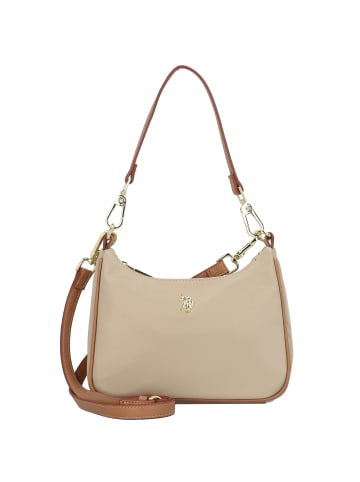 U.S. Polo Assn. Houston Schultertasche 22 cm in light taupe