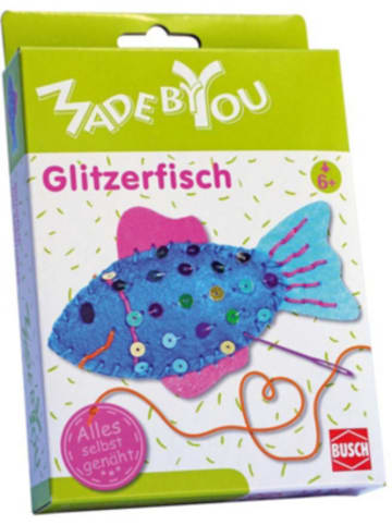 Busch MADE BY YOU Näh-Set Glitzerfisch