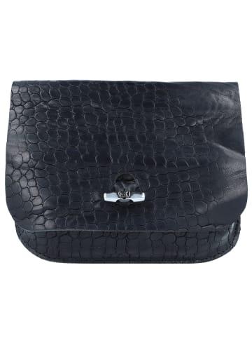 B.belt Soley Gürteltasche Leder 17 cm in schwarz