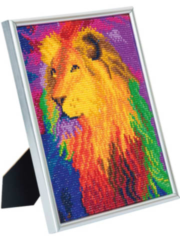 CRAFT Buddy Crystal Art Rainbow Lion