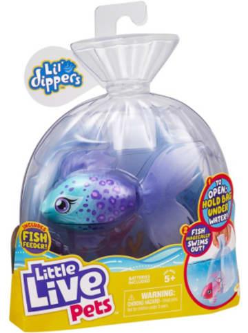 Moose Little Live Pets Lil Dipper interaktiver Fisch - Furtail