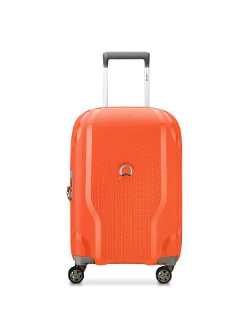 Delsey Clavel 4-Rollen Kabinentrolley 55 cm in orange