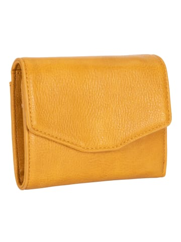 Six Portemonnaie in gelb