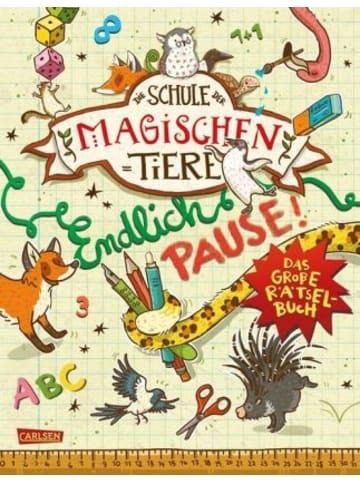 Carlsen Die Schule der magischen Tiere: Endlich Pause! Das große Rätselbuch
