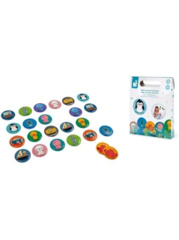 JANOD Badespielzeug Gedächtnisspiel Memory, 24 Teile