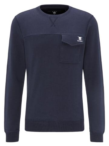TUFFSKULL Sweatshirt in Marine
