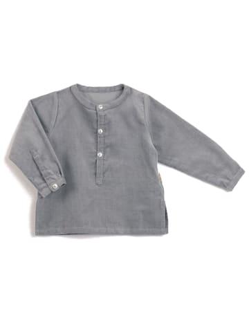 """OKKER-GOKKER NATURE Shirt """"Cord"""" in grau"""