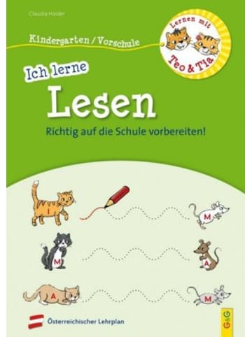G & G Verlagsgesellschaft Lernen mit Teo und Tia - Ich lerne Lesen - Kindergarten/Vorschule
