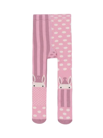 "Billy Loves Audrey Strumpfhose ""Karneval Hase"" in rosa"