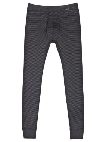 Ammann Unterhose lang mit Eingriff Jeans in Anthrazit