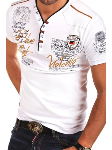 Behype T-Shirt GLOBAL in weiß
