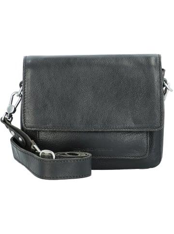 Cowboysbag Umhängetasche Leder 21 cm in black
