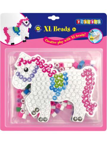 Playbox XL-Bügelperlen Pferd, 205 Perlen & Steckplatte