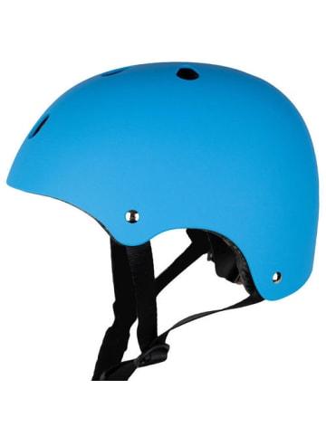 """SkullCap Skaterhelm / Fahrradhelm """"Design Blue Ocean"""" in blau"""