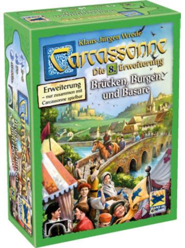 Hans im Glück Carcassonne - Brücken, Burgen und Basare, Erweiterung 8