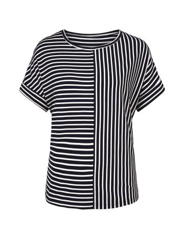 Million X - Women Damen Shirt Streifen in dark blue
