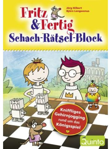 Quinto Fritz & Fertig Schach-Rätsel-Block