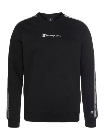 Champion Sweatshirt Sweatshirt in Schwarz