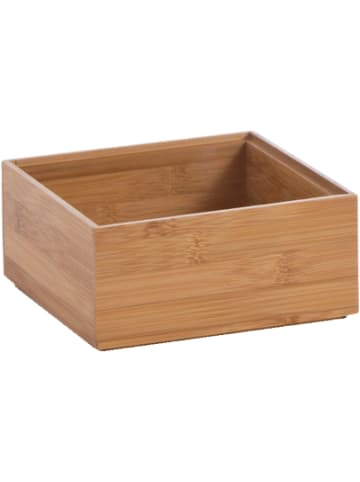 """Zeller Present Aufbewahrungs-Kiste """"Bamboo"""" 15x15x7 cm"""