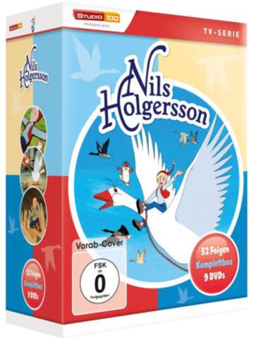 Universum DVD Nils Holgersson - Komplettbox