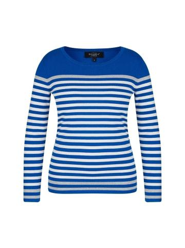 Bexleys woman Streifenpullover in blau