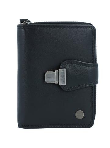 Greenburry Spongy Geldbörse Leder 9 cm in black