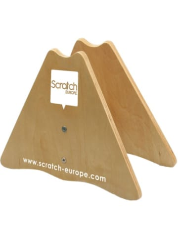 Scratch Laufradständer aus Holz