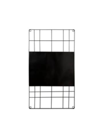 """Vtwonen Memo Board """"Magnetic Wire Black"""" in Schwarz - 60x105cm"""