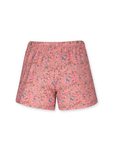 "PiP Studio Kurze Hose ""Bonna Short Trousers Petites Fleurs Pink"" in Pink"