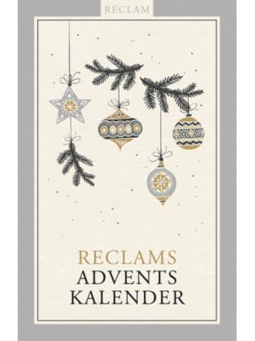 Reclam Verlag Reclams Adventskalender
