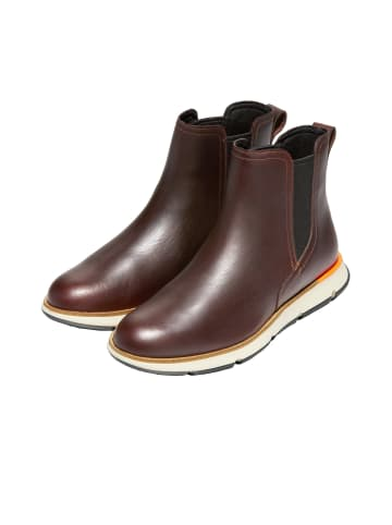 Cole Haan Chelsea Boots 4.ZERØGRAND in chestnut leather