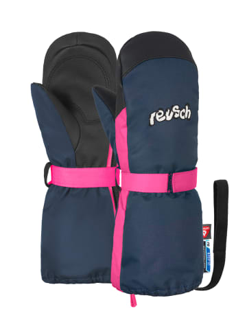 Reusch Fäustling Happy R-TEX® XT Mitten in dress blue/pink glo