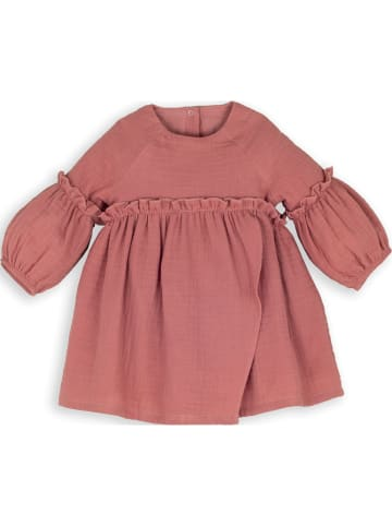 Mamino Kindermode Mädchen Kleid in rosa