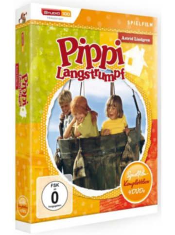Universum DVD Pippi Langstrumpf - Film-Box (4 DVDs)