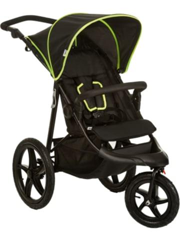 Hauck Buggy Runner, black/neon yellow