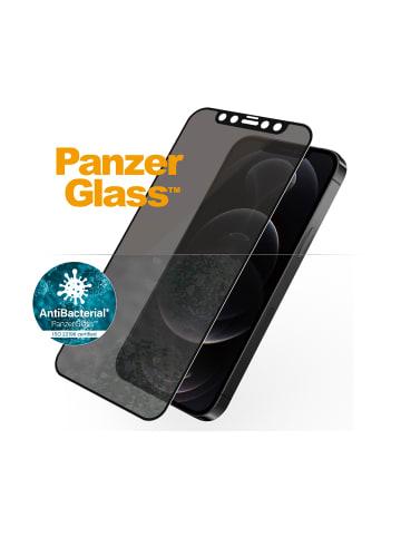 """Panzerglass Display-Schutzglas """"Edge to Edge Privacy"""" für iPhone 12 / 12 Pro in schwarz"""